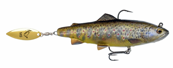 Savage Gear 4D Trout Spin Shad - Brown Trout