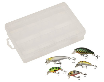 Kinetic Lure Kit Perch inclusief tacklebox