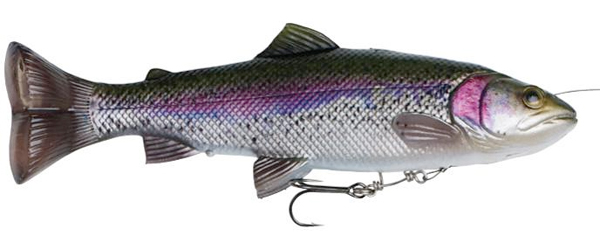 Savage Gear 4D Line Thru Pulse Tail Trout 16cm 51g SS - Rainbow Trout