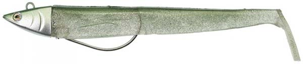 Illex Nitro Sprat Slim Shad 140, Head + 2 Bodies (keuze uit 11 opties) - Green Sprat