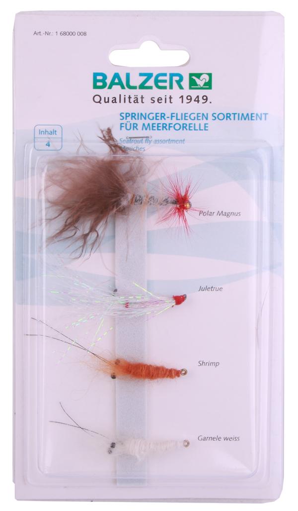 Balzer Seatrout Fly Set, voor het spinvissen op zeeforel!