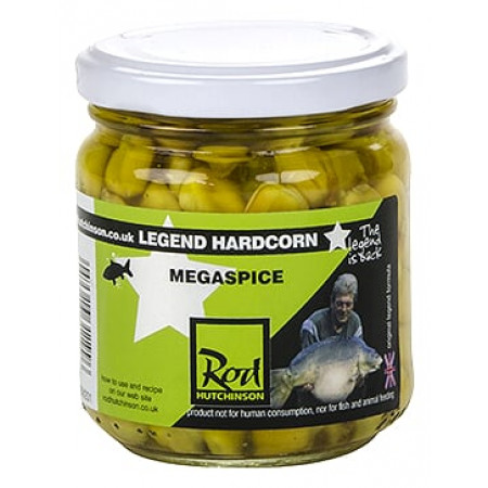 Rod Hutchinson Hardcorn Flavoured Hookbaits (keuze uit meerdere opties) - Megaspice (Yellow)
