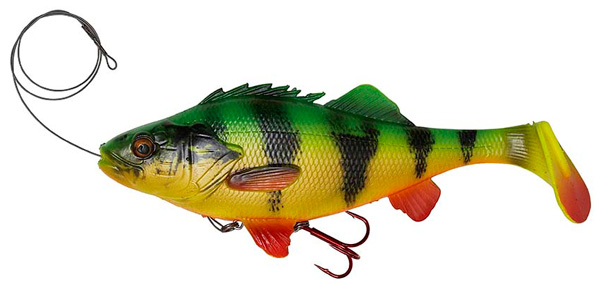 Savage Gear 4D Perch Shad 20cm - Firetiger
