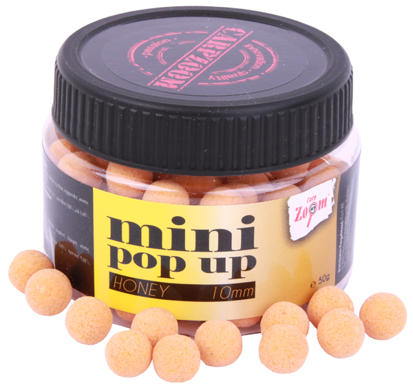 Carp Zoom Mini Pop Up 10mm 50g (keuze uit 7 opties) - Honey