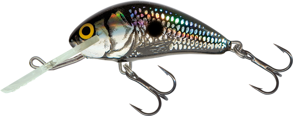 Salmo Hornet 4cm Floating - Black Silver Shad