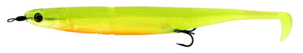Westin KickTeez Shadtail 15cm Rigged, 2 stuks - Slime Curd
