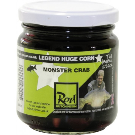 Rod Hutchinson Hardcorn Flavoured Hookbaits (keuze uit meerdere opties) - Monster Crab (Brown)