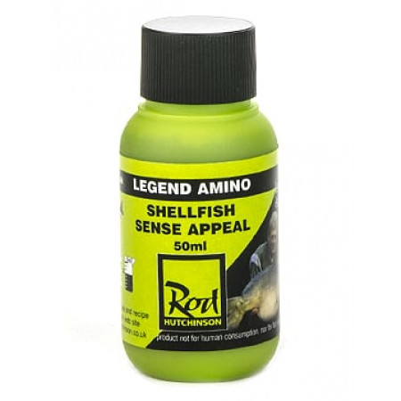 Rod Hutchinson Legend Liquid Additive 50ml (keuze uit meerdere opties) - Shellfish Sense Appeal
