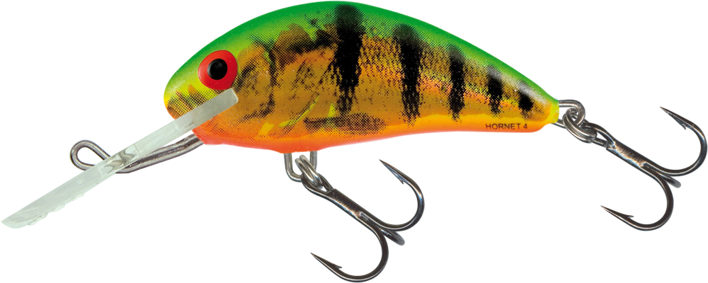 Salmo Hornet 4cm Floating - Holographic Fire Tiger