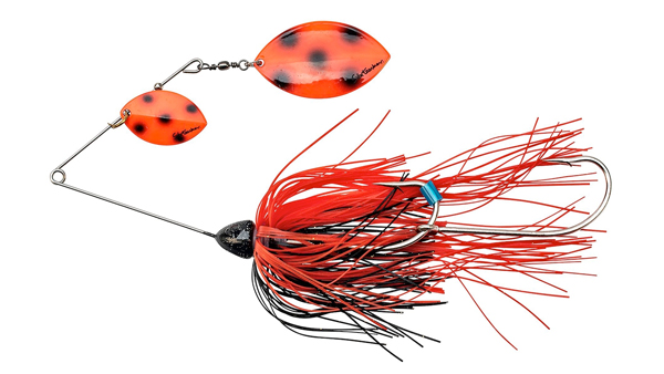 Svartzonker Queen Kelly Spinnerbait (meerdere opties) - Fluo Red Bandit
