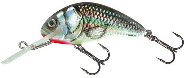 Salmo Hornet SDR 5cm (keuze uit 11 opties) - Holo Grey Shiner (HGS)