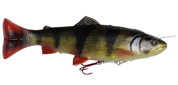 Savage Gear 4D Line Thru Pulse Tail Trout 16cm 51g SS - Perch
