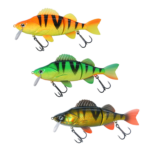 Effzett Slide'N Roll Perch, set van 3 stuks