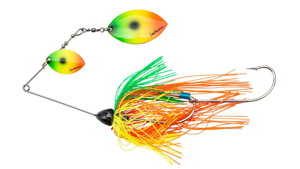 Svartzonker Queen Kelly Spinnerbait (meerdere opties) - Fire Tiger