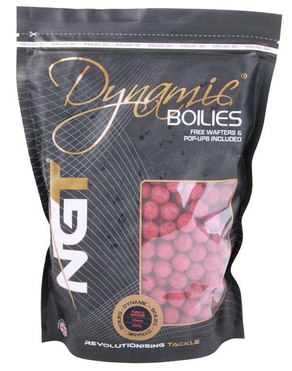 NGT Dynamic Boilies 900gr 15mm