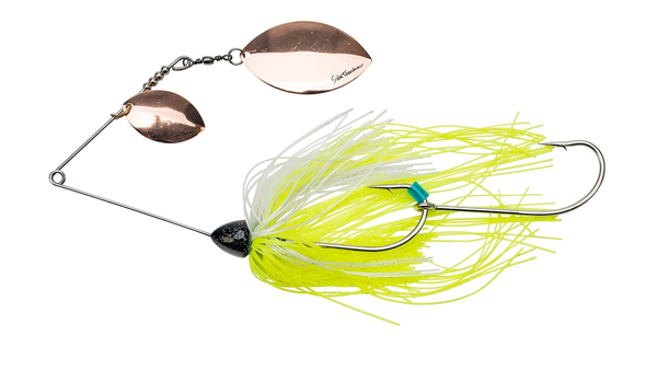 Svartzonker Queen Kelly Spinnerbait (meerdere opties) - Copper Chart White