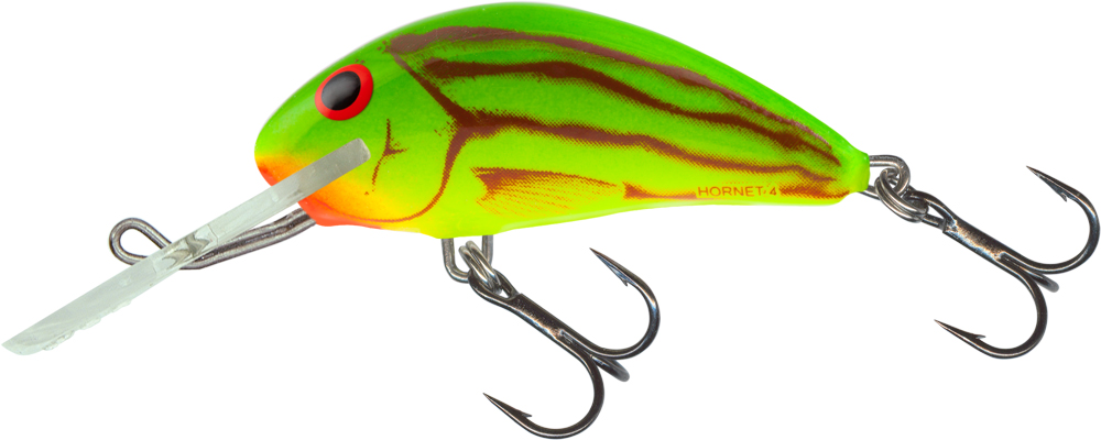 Salmo Hornet 4cm Floating - Green Ghost
