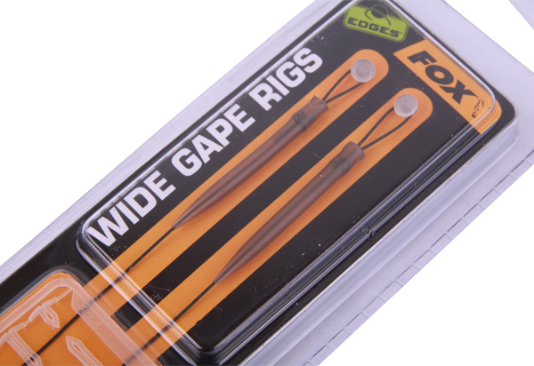 Fox Edges Armapoint Wide Gape Ready Rig + Ultimate Bait Bands (keuze uit 8 opties) - Green