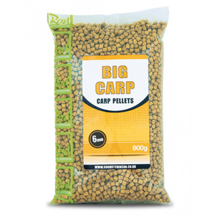 Rod Hutchinson Carp Pellets 'Big Carp' (keuze uit meerdere opties) - Rod Hutchinson Carp Pellets 'Big Carp' 6mm (800g)