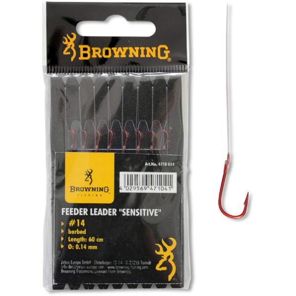 Browning Feeder Sensitive hook-to-nylon (Keuze uit 10 opties)
