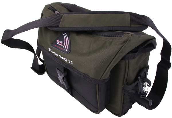Iron Claw Plain Bag II inclusief 3 Tackleboxen