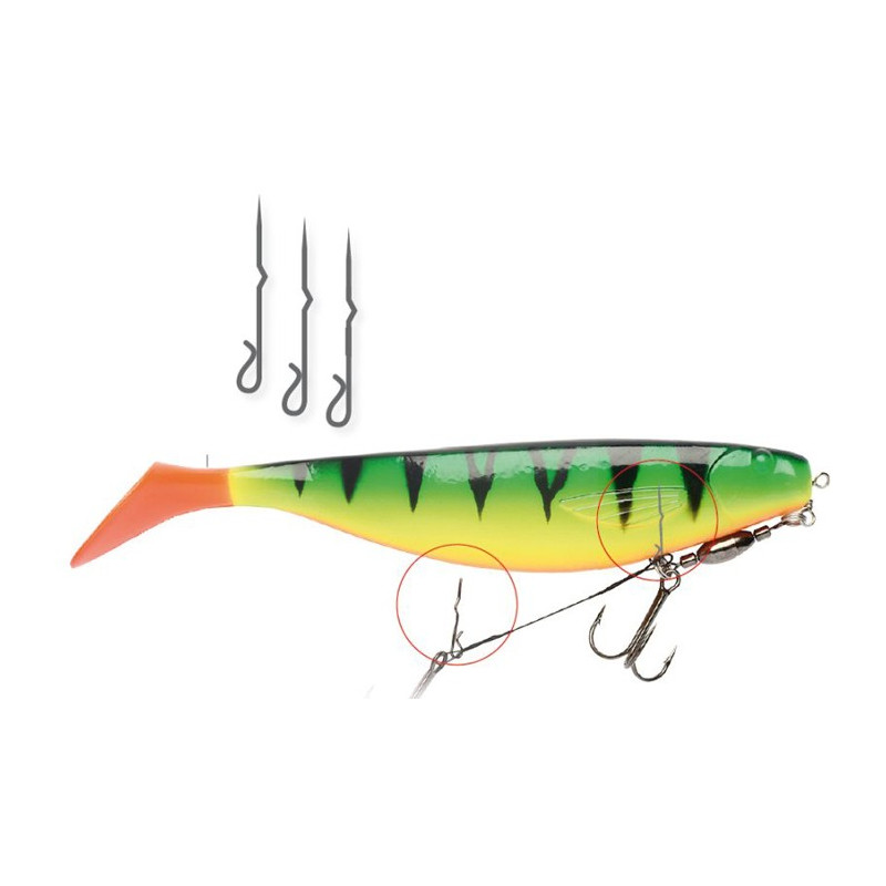 Darts Soft Bait Spike 25mm, 15 stuks!