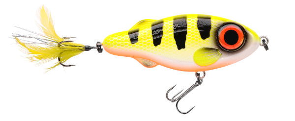 Spro Iris Flashjerk 115 (Keuze uit 8 opties) - Hot Perch