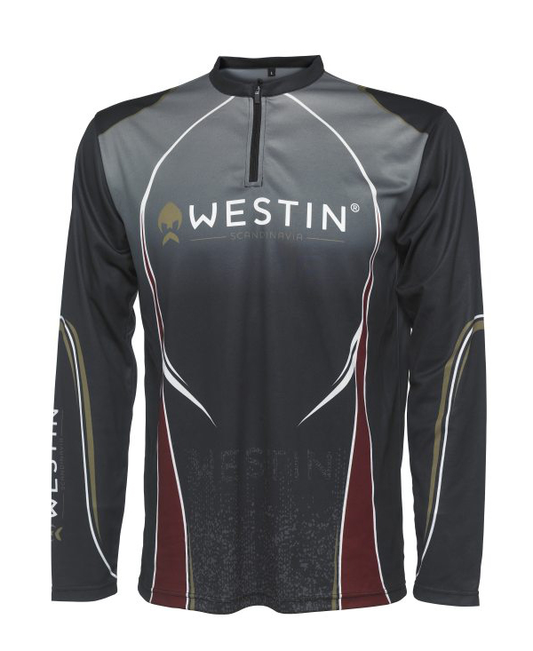 Westin Tournament Shirt LS XXL (keuze uit 2 opties) - Pirate Black