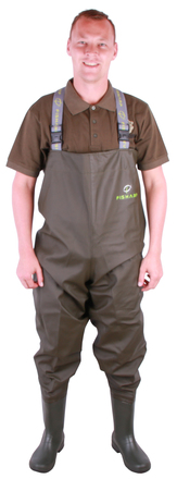 Fisharp Lightweight Chest Wader Olive