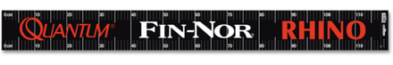 Quantum Fin-Nor Rhino Measure Tape Sticker 119x12,4cm