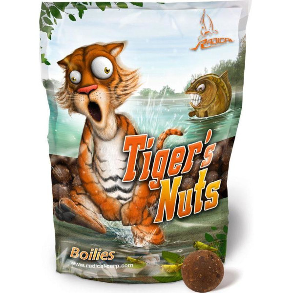 Radical Tigers Nut's Boilies 24mm - Tiger's Nuts