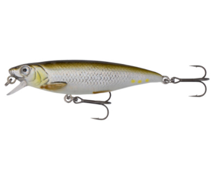 Savage Gear 3D Twitch Minnow - Green Silver Ayu