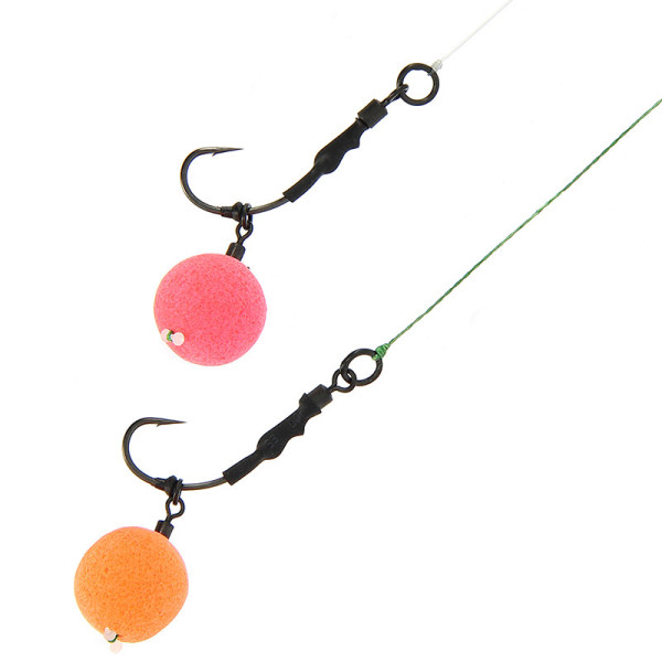 NGT Ronnie Rigs - 3 Pack with Teflon Hooks (keuze uit 3 maten)