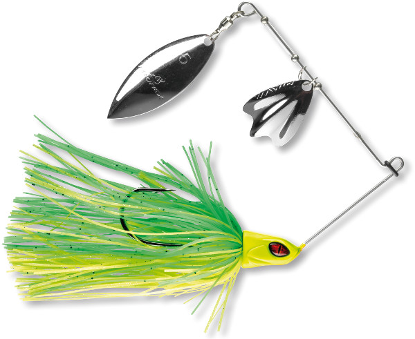 Prorex DB Spinnerbait - Green Chartreuse