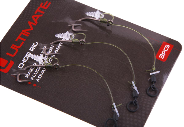 Ultimate Chod Rig 25lbs - 3pcs - Ultimate Chod Rig Long