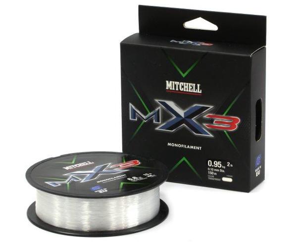 Mitchell MX3 CLR Mono 150m (keuze uit 10 opties)