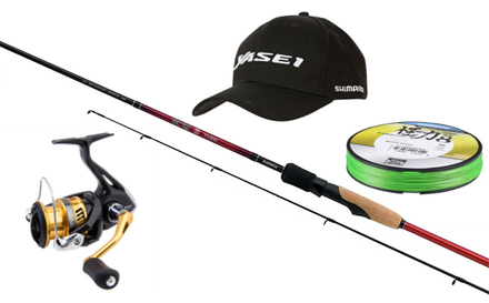 Shimano Yasei Red Perch Spin Set