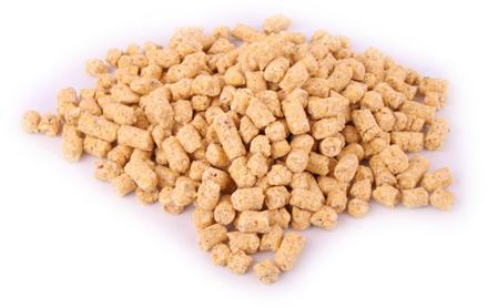 Bulkverpakking 20kg Baby Corn Mais Pellets in 3 of 8mm (keuze uit 6 smaken)~~