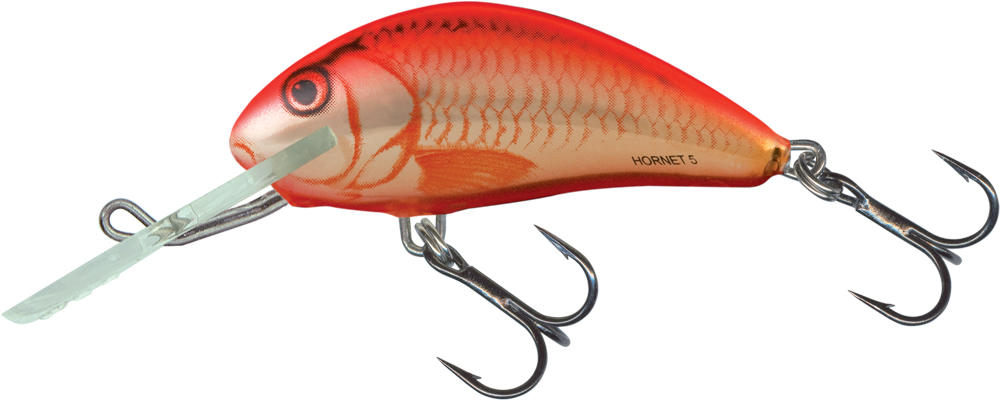 Salmo Hornet Floating 5cm - Orange Crush