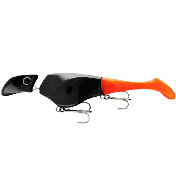 Headbanger Shad 22cm Sinking 83g (meerdere opties) - Black/Orange