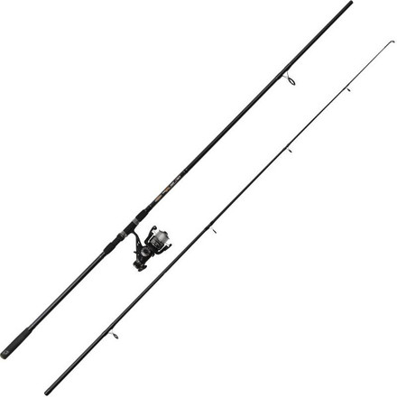 Ron Thompson Tech Carp Combo met vrijloopmolen