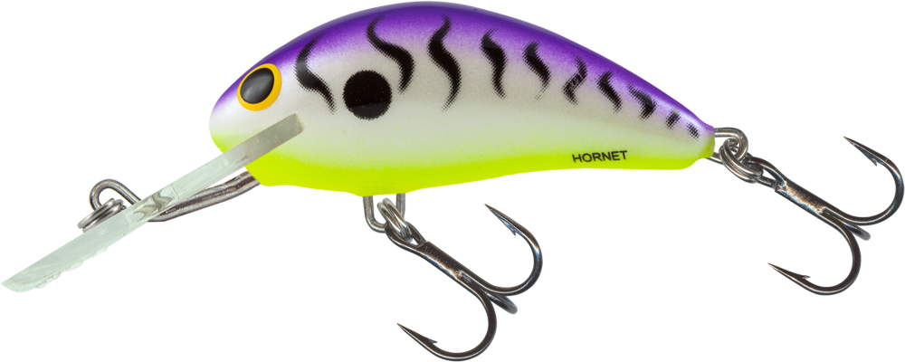 Salmo Hornet Floating 5cm - UV Grape Tiger