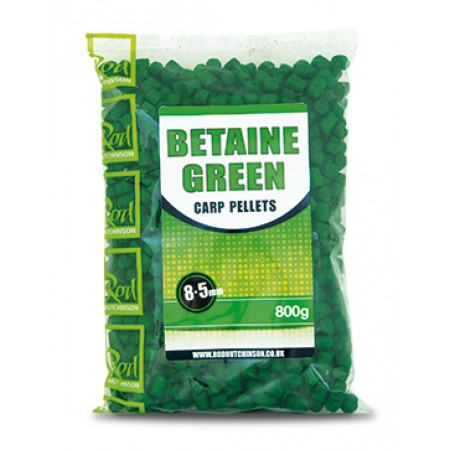 Rod Hutchinson Carp Pellets (keuze uit meerdere opties) - Rod Hutchinson Carp Pellets 'Betaine Green' 8.5mm (800g)
