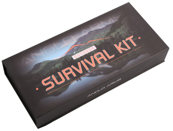 Anglo Arms Survival Kit inclusief zakmes, multi-tool, draadzaag en fire starter
