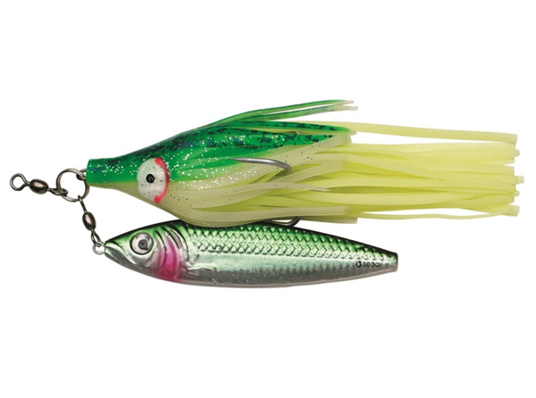 Kinetic Halibut Jigger 300 g - Green/Silver