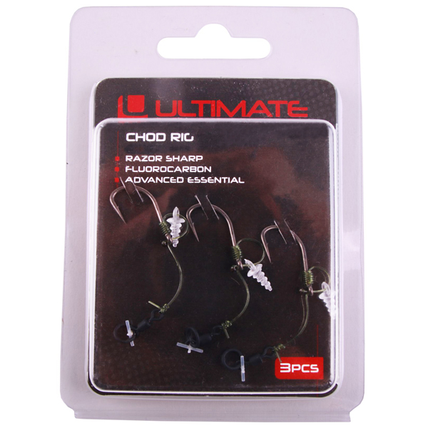 Ultimate Chod Rig 25lbs - 3pcs - Ultimate Chod Rig Short