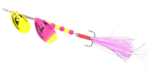 Spro Supercharged Tandem Spinner 20cm (keuze uit 6 opties) - Cotton Candy Weighted