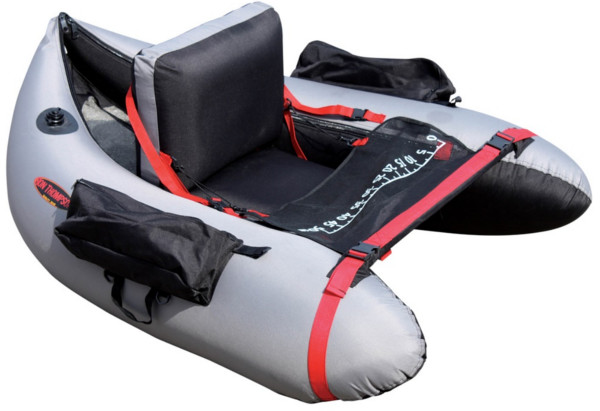 Ron Thompson Max-Float Bellyboat + Flippers + Pomp