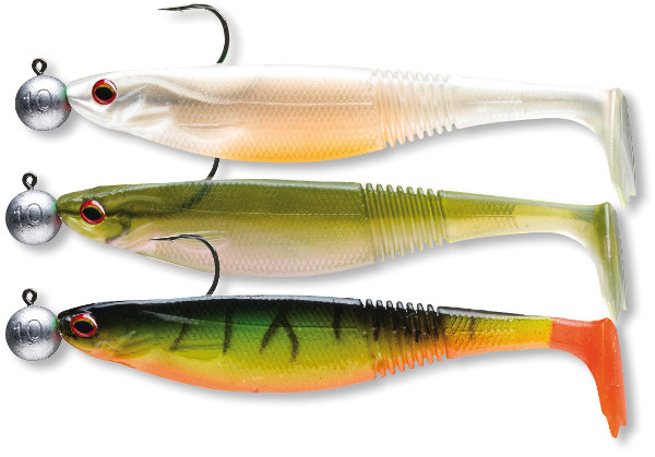 Daiwa 'Ready To Fish' Classic Shad Kit (keuze uit 6 opties) - Zander/Perch Kit 2