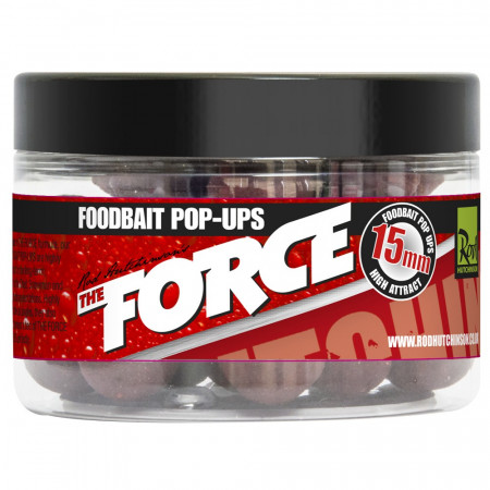 Rod Hutchinson The Force Food Bait Pop Ups 15mm - Rod Hutchinson The Force Food Bait Pop Ups 15mm